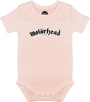 3 bis 18 Monate mehrere Farben offizielles Band-Merch Gr/ö/ßen von 62 bis 80 Logo - Baby Skater Shirt Metal Kids In Flames