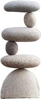 Small Side 2 Side Rock Cairn Sculpture Garden Decoration Zen Garden Pile Stone