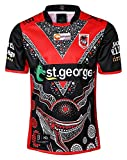 JYKJ STORE Jersey Rugby 2019 St. George Hero Edition Jersey de Rugby (Color : A, Size : M)