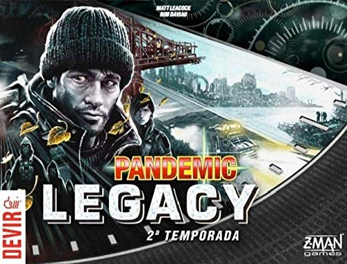 Pandemic Legacy Black 2ª Temporada - Devir