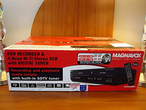 Our #4 Pick is the Magnavox ZV450MW8 DVD Recorder and VCR Combo