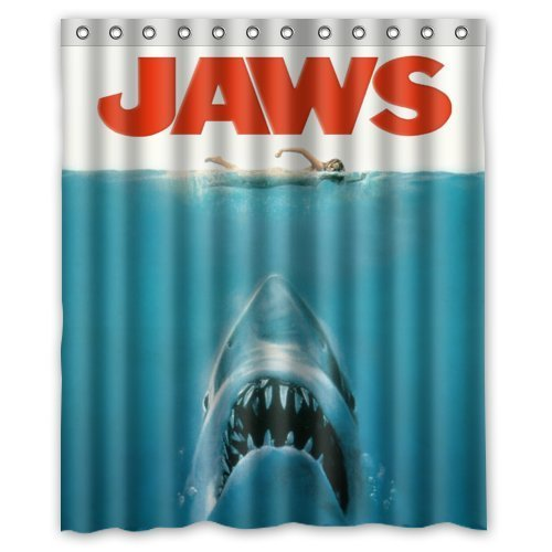 STARFISH HANLU JAWS - STEVEN SPEILBERG new Custom Shower Curtain 60