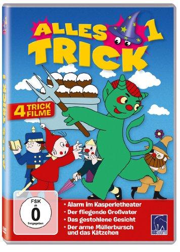 Alles Trick 1 (4 Trickfilme: Alarm im Kasperletheater - Der fliegende Großvater - Das gestohlene Gesicht - Der arme Müllerbursch und das Kätzchen)