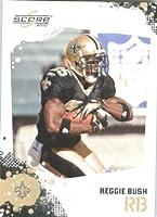 Reggie Bush - New Orleans Saints - 2010 Score Football Card - NFL Trading Card