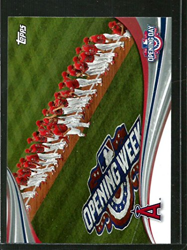 2017 Topps Opening Day at the Ballpark #ODB-11 Los Angeles Angels Los Angeles Angels Baseball Card...