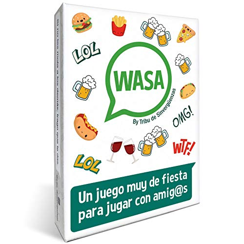 WASA – Juego de Mesa - Juego de Cartas para Fiestas y Risas.