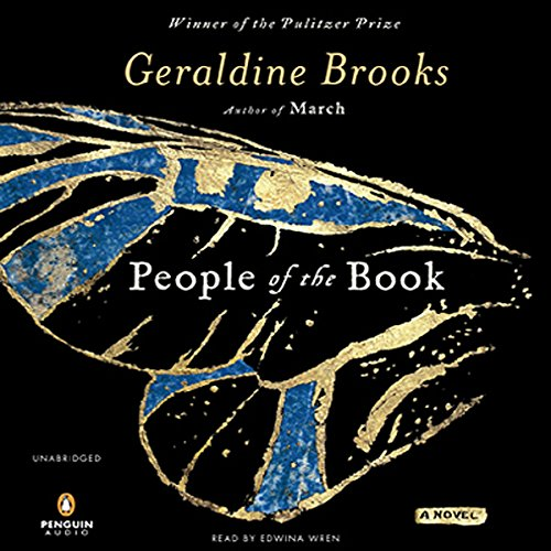 People of the Book     A Novel              By:                                                                                                                                 Geraldine Brooks                               Narrated by:                                                                                                                                 Edwina Wren                      Length: 13 hrs and 53 mins     1,854 ratings     Overall 4.2