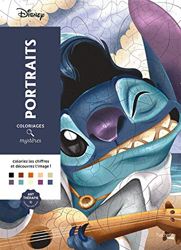 Coloriages Mystères Disney Portraits