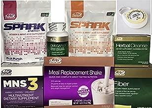 Advocare 24 Day Challenge, Vanilla Meal Replacement + Bonus.MNS3, Fruit & Mandrain Orange Spark