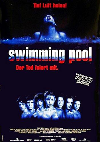Swimming Pool - Der Tod feiert mit (2001) | original Filmplakat, Poster [Din A1, 59 x 84 cm]
