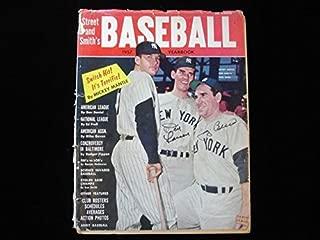 Don Larsen & Yogi Berra Autographed Street & Smith's 1957 Baseball Yearbook