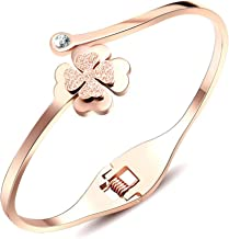 2019 Women's Bracelet 18K Gold4 Leaf Clover Bracelets Fashion Jewelry Accessories Adjustable Gift for Valentine's Day Couples