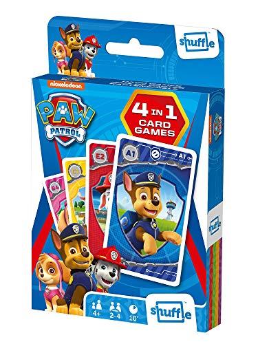 Shuffle Kartenspiel Fun 4 in 1 Paw Patrol
