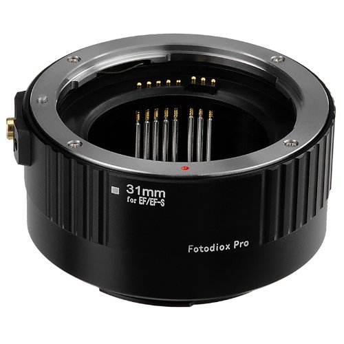 Fotodiox Pro Auto Macro Extension Tube Kit voor Canon EOS EF/EF-s Lenzen voor Extreme Close-up