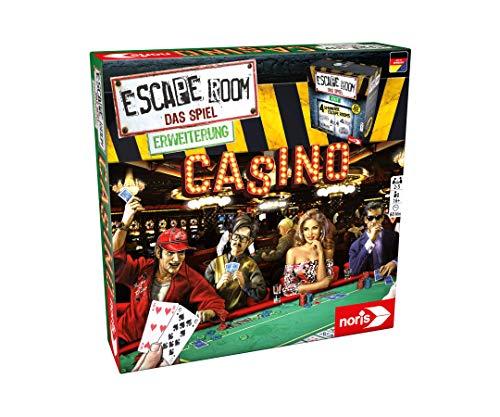 Noris 606101641 - Escape Room Erweiterung Casino - Familien und Gesellschaftsspiel für Erwachsene - Nur mit dem Chrono Decoder spielbar - ab 16 Jahren