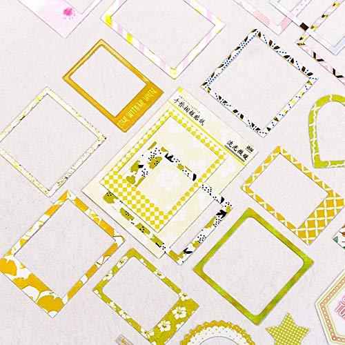 BLOUR 15 unids/PackPegatinas de la Serie de la fama de Fotos Frescas DIY Diario Deco Scrapbooking planificador Pegatinas de Papel Regalos para niñas