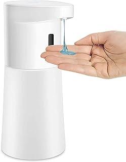 KENUO ソープディスペンサー オートディスペンサー 液体タイプ 500ml大容量 アルコール使用可能 台所 洗面所 壁掛け可能 IPX4防水 液体洗剤用 食器洗剤用