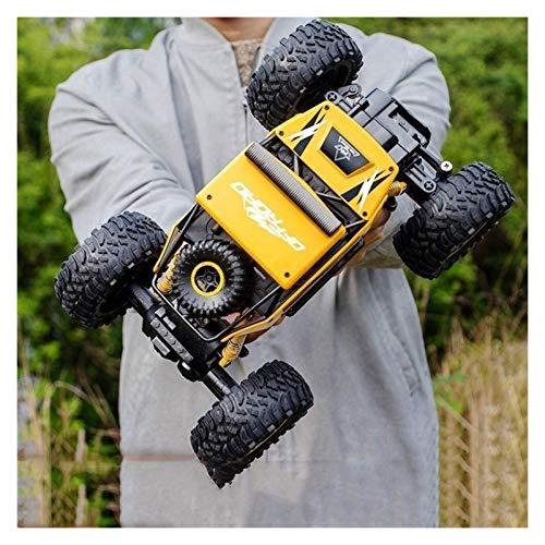 YYQIANG 2.4G RC ROCK CRAWLER RC CAR, 1:14 Aleación de control remoto de niños de alta velocidad Coche, 4WD Off-Road Cargable RC Coche, Monster Truck Ideal Navidad Cumpleaños Año Nuevo Regalo para Niño