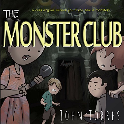The Monster Club, Book 1 cover art