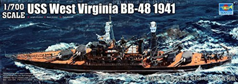 precio razonable Trumpeter USS USS USS West Virginia BB48 Battleship 1941 Model Kit (1 700 Scale) by Stevens International  grandes ofertas