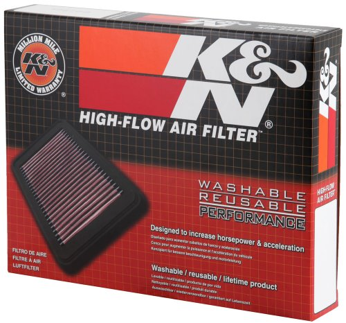 K&N Engine Air Filter: High Performance, Premium, Washable, Replacement Filter: 2014-2019 Honda Accord Hybrid, 33-5006