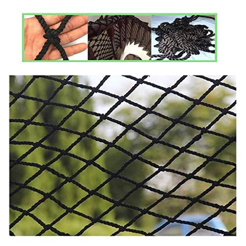 Container Protective Net Zwart balkon trapnet, decoratieve netto plafond netto veiligheid opknoping kleding netto partitie netto kat plant netto voetbal netto trailer net Construction Site Flame Retardant Saf
