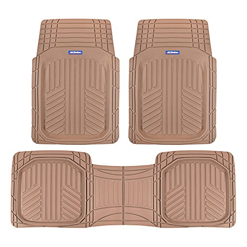 Our #6 Pick is the ACDelco ACOF-933 Deep Dish Rubber Floor Mats
