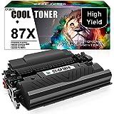 Cool Toner Compatible Toner Cartridge Replacement for HP 87X 87A CF287X CF287A M506 Toner Cartridge for HP Laserjet Enterprise M506 M501dn M506dn M506N M506X MFP M527dn M501 M527 Ink (Black, 1-Pack)