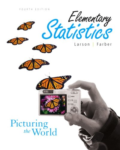 Download Elementary Statistics: Picturing the World Value Pack (includes Technology Manual & MyMathLab/MyStatLab Student Access Kit ) 0321589122