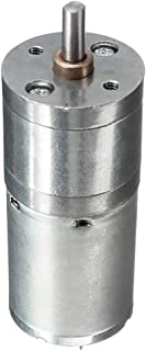 30RPM 37mm DC 12V Motor de Reducci/ón de Velocidad Caja de Engranajes de Alta Fuerza de Tensi/ón Motor Reductor de Velocidad 3.5//15//30//70RPM