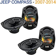 Compatible with Jeep Compass 2007-2014 Factory Speaker Replacement Harmony (2) R69 Package New