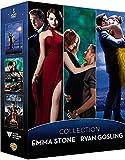 Coffret ryan gosling et emma stone 3 films : gangster squad ; la la land ; crazy, stupid, love