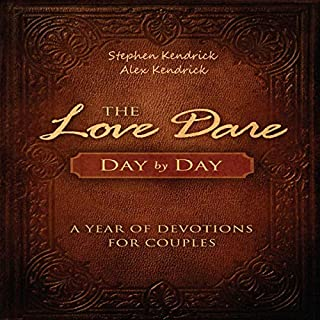The Love Dare Day by Day     A Year of Devotions for Couples              By:                                                                                                                                 Stephen Kendrick,                                                                                        Alex Kendrick                               Narrated by:                                                                                                                                 Jeff Lewis                      Length: 11 hrs and 24 mins     2 ratings     Overall 4.0