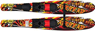 "AIRHEAD WIDE BODY Combo Skis, 53"", pair"