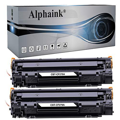 2 Toner Alphaink Compatibile con HP CF279A versione da 1000 copie per stampanti HP Laserjet Pro M12 M12W M26 M26NW (2 Toner)