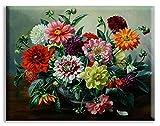 LY88 Kits de Bordado de Punto de Cruz 14CT Flores de Colores Hilo de algodón Pintura DIY Costura DMC año Nuevo decoración del hogar