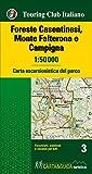 Foreste Casentinesi, Monte Falterone e Campigna 1:50.000. Carta escursionistica del parco. Con Libro...