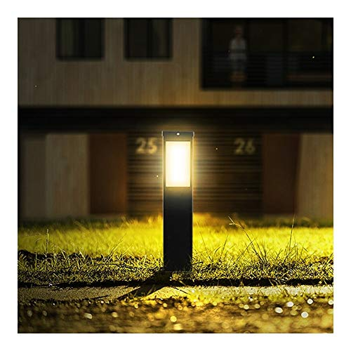 DLK Wandlampe Kronleuchter Retro-Stehlampe Touch-Bedsi Angetrieben durch Außen Rasen-Licht wasserdichte LED-Garten-Licht 60cm Garten Pool Straßenrand Straßenlaterne weißen Licht-warmes weißes Licht