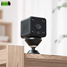 Zenly Mini IP Camera WiFi with Battery 1080P HD Night Vision Wireless Home Security Camera Motion Detection Remote Monitor...