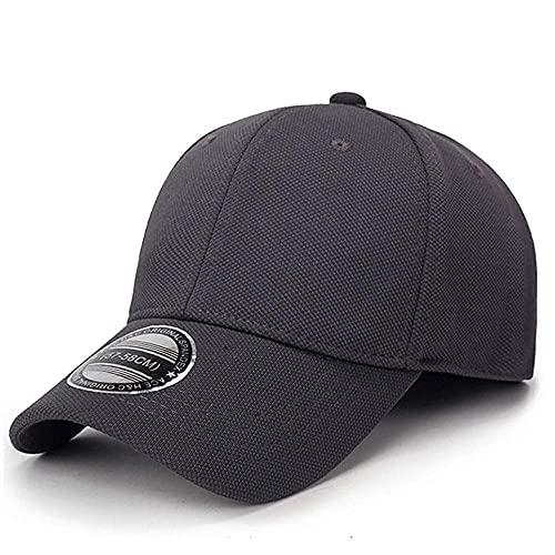 Gorras Sello completo Sombreros de béisbol Hombres Verano Pato Lengua Caps Deporte Chapeau Sunhat Versión coreana Versión al aire libre Primavera y sombrero de otoño HABITACIÓN MS ( Color : Grey )