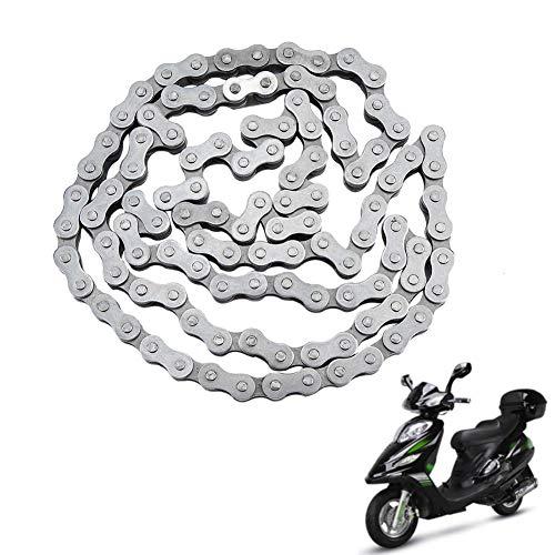 Cadena de motor, cadena de moto, para bicicleta motorizada de 49 cc, 60 cc, 66 cc, 80 cc, motor de bicicleta 415-110 l
