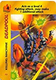 1995 Fleer Marvel Overpower NonSport #NNO Deadpool - Killing Machine Official Collectible Card Game Trading Card