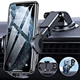 TORRAS Car Phone Holder Mount [Thick Case & Big Phone Friendly] 3 in 1 Cell Phone Holder for Car Dashboard Windshield Air Vent Compatible with iPhone 12 11 Pro Max Samsung Galaxy Note S20 Ultra