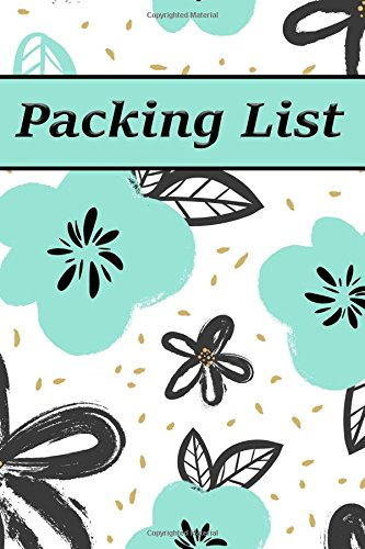 Packing List: Packing List Checklist Manifesto Trip Planner Vacation Planning Adviser Itinerary Travel Diary Planner Organizer Budget Notes size 6*9 ... Pages (Seamless vintage pattern) (Volume 4)