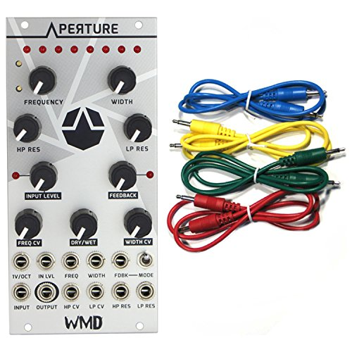Learn More About WMD Aperture Variable Width Bandpass Filter Eurorack Synth Module w/ 4 Cables