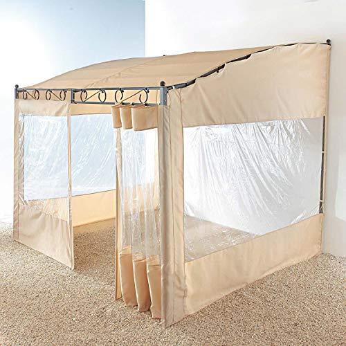 Pureday 2 Seitenwände für B075SG4PH6 Pavillon Wave Terrassenüberdachung - Beige