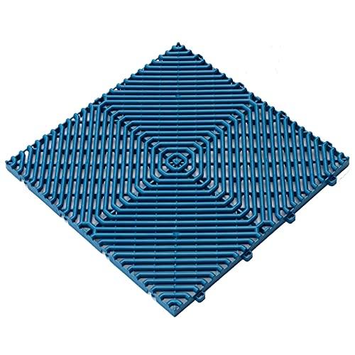 Art Plast pavimento Azul ROMBO, 39,5x39,5x1,7 cm (38,5x38,5 Neto) 1m²: 6 láminas