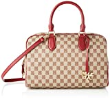 piero guidi Top Handles Bag, Borsa a Mano Donna, Rosso (Carcade'), 31x20x15 cm (W x H x L)