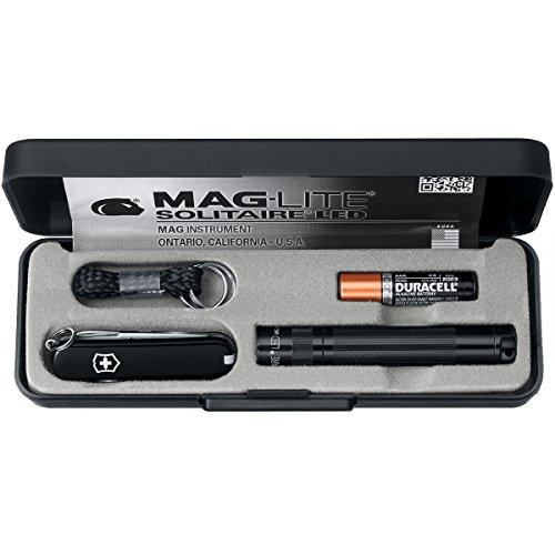 Victorinox Zubehör Maglite-Set mit LED Lampe AAA Schweizer Messer Und Taschenlampe, schwarz, One Size