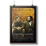 1997 Good Will Hunting Film Movie A0 A1 A2 A3 A4 Satin Foto